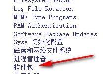 点击系统安装软件包