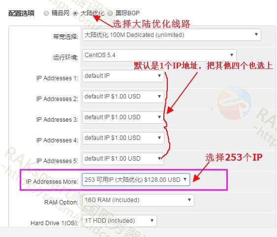 RAKsmart美国站群服务器添加C段IP地址方法