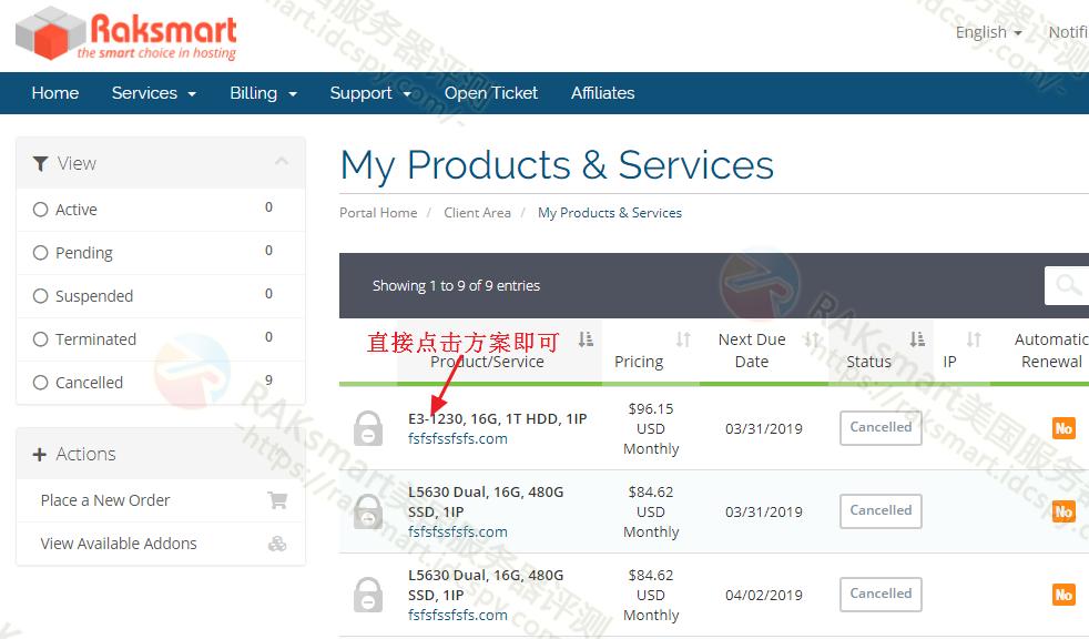 RAKsmart美国服务器登录IPMI