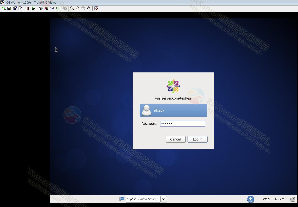 Desktop Gnome用户登录