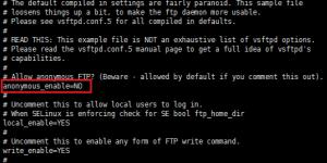 Centos7搭建FTP服务详细过程