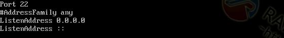 SSH开启端口监听