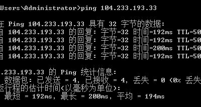 RAKsmart国际BGP线路ping值测试