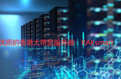 香港大带宽服务器推荐RAKsmart