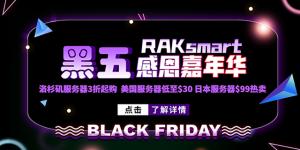 RAKsmart黑五嘉年华