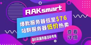 RAKsmart美国特价服务器