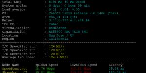 RAKsmart洛杉矶服务器E5-2620方案CN2 Only线路基本性能评测