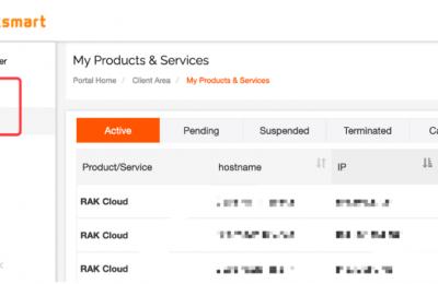 RAKsmart美国云服务器产品