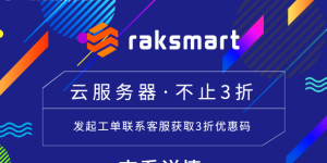 RAKsmart美国云服务器不止3折